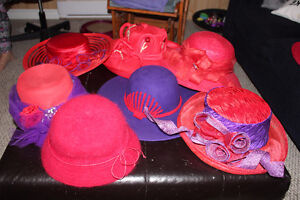 Red Hat Society Hats