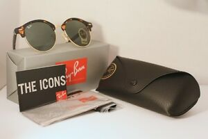 Ray Ban Clubround - Tortoise and Gold