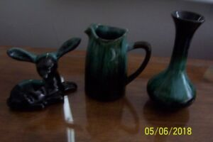 3 PIECES OF BLUE MOUNTAIN POTTERY
