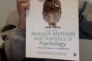 Research Methods and Statistics in Psyc/ PSYC 2030
