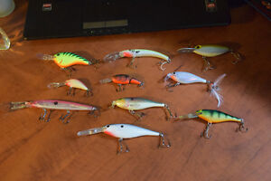 10 Brand New Fishing Lures - No Boxes