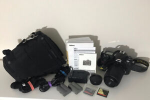 Nikon D300 with 55-200 VR 4-5.6G - in mint condition