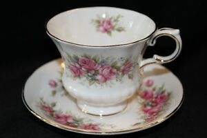 TEA CUPS & SAUCERS, VINTAGE