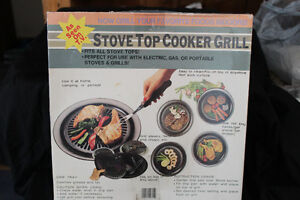 Stove top cooker Grill