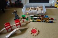 Large Lot of Thomas the Train Toys
