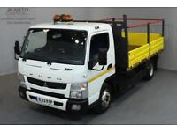 MITSUBISHI FUSO CANTER 3.0 7C15 34 2D 148 BHP TIPPER REAR WD AUTO GEARBOX ECO