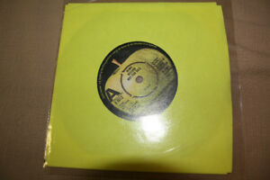 "GEORGE HARRISON 1974 45 RECORD ""DEMO RECORD NOT FOR SALE"""
