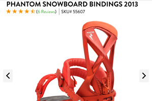 Raiden Phantom bindings Medium Size