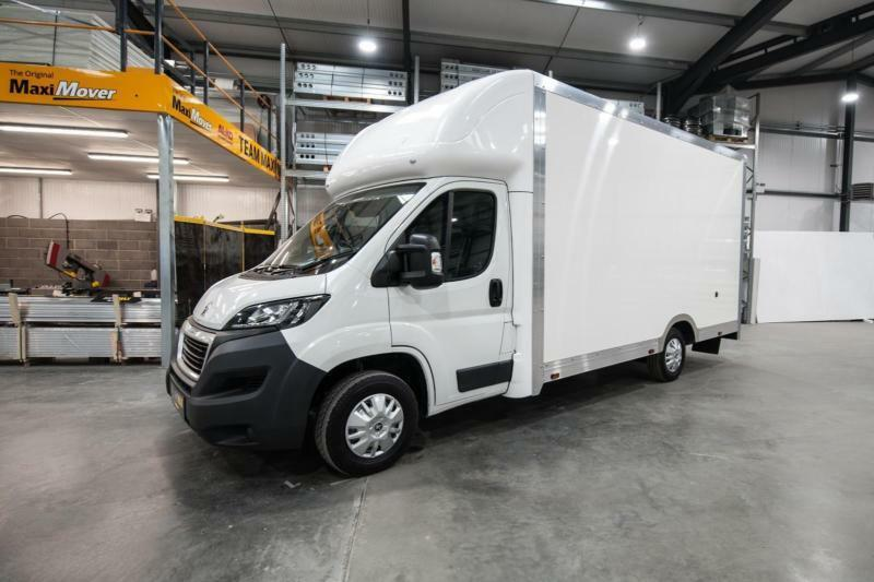 6a0c42a36810d9 2018 (68) Peugeot Maxi Mover 4.5m (14ft 9) Enterprise Low Floor Luton Van