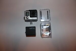 GoPro Hero 4 Silver with accessories/ attachments