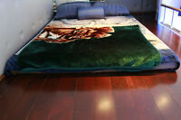 Custom Made Queen Size Bed - $100