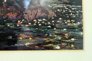 "Tom Thomson Print ""The Lily Pond""  Group Of 7 Artist Kingston Kingston Area image 5"