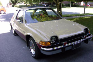 1975 AMC PACER.  Car sold space for rent. clean/dry/heated HURRY