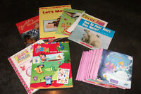 Kids BOOKS-Scholastic and Bathroom-Toys