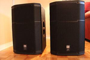 Paire des Speakers amplifieé JBL PRX 615