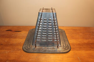 Old Antique Tin Stove Top Toaster