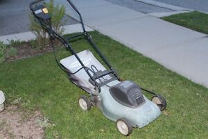Push reel and electric mowers for sale