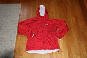 Womens medium med Marmot red jacket excellent rain