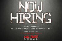 Store Manager Required