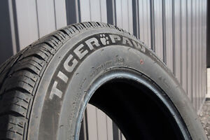 Almost New Uniroyal Tiger Paw Touring Tires