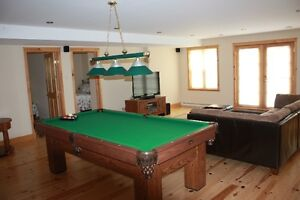 Spa and sauna at a cottage for rent chalet for rent St Sauveur Gatineau Ottawa / Gatineau Area image 6