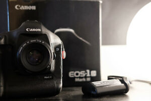 FS/FT: Canon 1D Mark III—Great Condition with 2 Batteries, Box