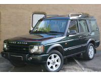 Land Rover Discovery 2.5Td5 ( 7 st ) auto 2003MY ES CREAM LEATHER BARGAIN PRICE!