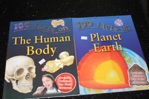 100 Facts on - The Human Body & Planet Earth