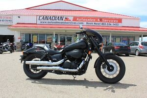 2014 HONDA SHADOW VT750 LOW KMS!!! FINANCING AVAILABLE