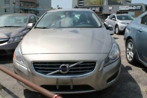2012 Volvo S60 LEATHER, SUNROOF, BLIND ASSIST, BACK UP CAMERA
