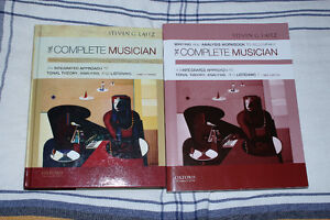 Complete Musician Third 3rd. Edition Laitz Textbook and Workbook