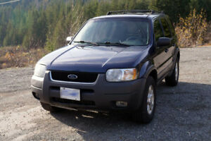 Ford Escape XLT 2003 - $3400