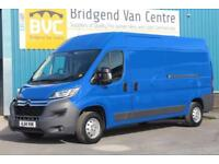 2014 CITROEN RELAY 35 L3H2 2.2 HDI 130 BHP ENTERPRISE DIESEL 6 SPEED MANUAL VAN,