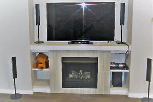 """75"""" SAMSUNG LED 1080P- HD TV AND SONY HOME THEATER SYSTEM"""
