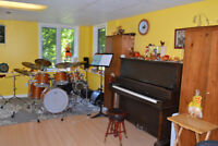Piano, Flute, Drum Kit , Music Theory, Young Children's Programs