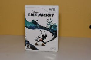 Disney's Epic Mickey for the Wii $15 or best offer