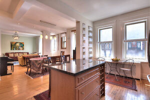 4Bed 3.5Bath - Condo for sale in NDG with finished basement apt