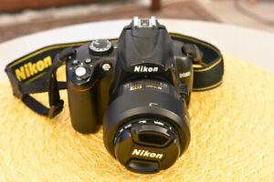 Nikon D5000 with Nikon 35mm F1.8 & 2 filters