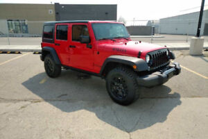 2018 JEEP WRANGLER UNLIMITED WILLYS WHEELER 4X4 ONLY 128KMS!!!