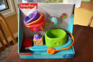 Fisher-Price Stackin' Tub Time Boat Toy