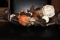 Handcrafted Fruit/Decorative Bowl
