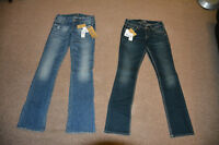 Two Pairs of Brand New Silver Jeans