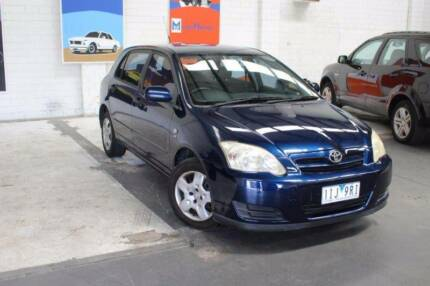 2004 Toyota Corolla Ascent AUTO Hatch
