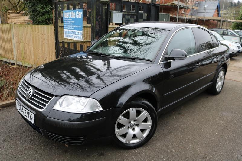 2004  04  Vw Passat 1 9 Tdi S Black 4 Door Sat Nav Long Mot Diesel Passat
