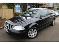 2004 (04) VW Passat 1.9 TDI S Black 4 Door SAT NAV LONG MOT DIESEL PASSAT