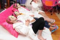 Mobile Spa Birthday Parties!