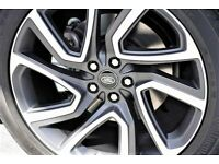 """4X 5025 GENUINE 22"""" LAND RANGE ROVER DISCOVERY 5 ALLOY WHEELS TYRE"""
