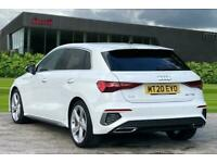 2020 Audi A3 Sportback S line 35 TFSI 150 PS S tronic Auto Hatchback Petrol Aut