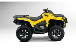 2014 CAN-AM outlander 877   km new price