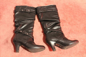 Leather dress boots for sale St. John's Newfoundland image 4